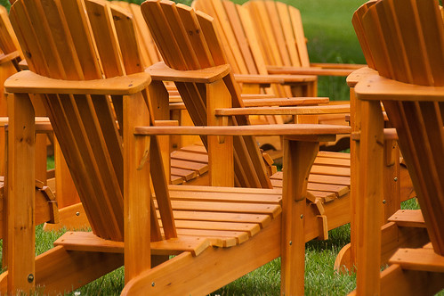 Muskoka chairs - #167/365 by PJMixer