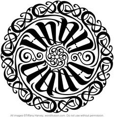 """Ethan"" Circle Ambigram"