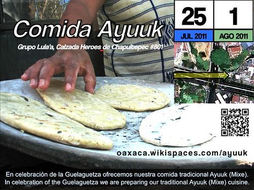 Celebrate Guelaguetza with Authentic Comida Ayuuk @ Oaxaca 07.2011