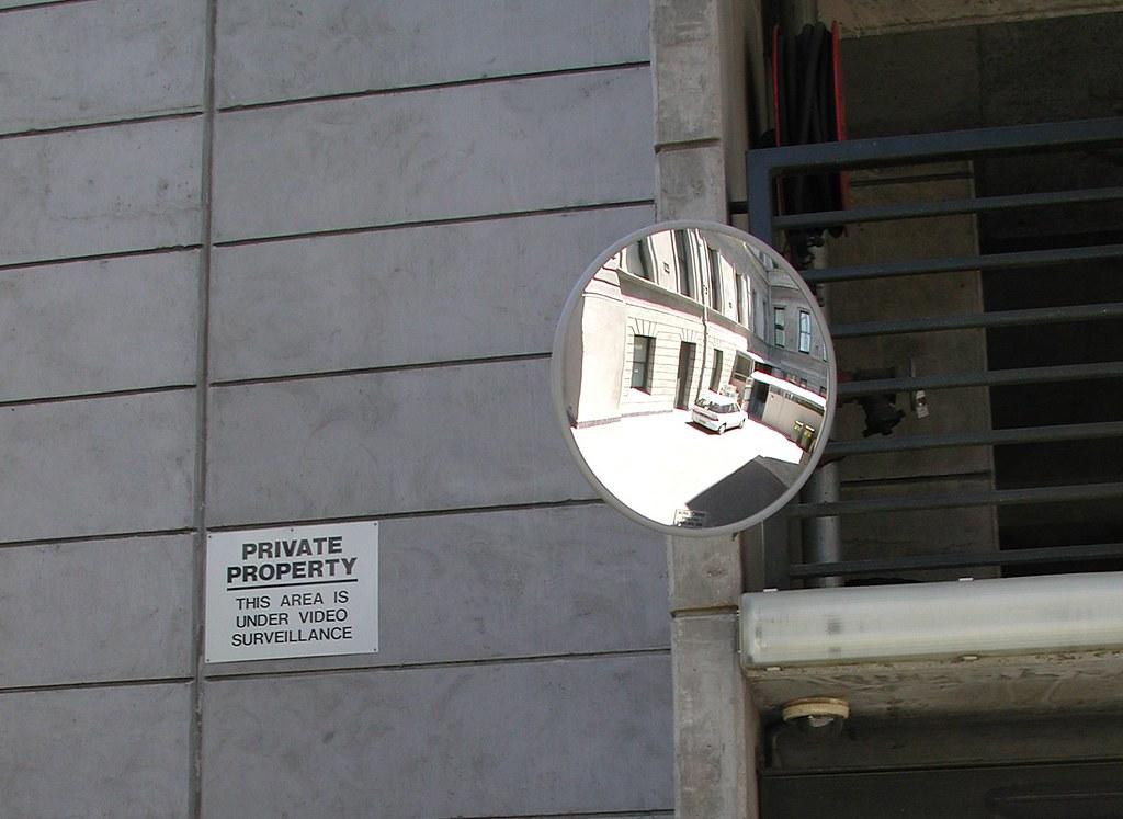 Convex Mirror-Convex Mirror 400mm round Acrylic