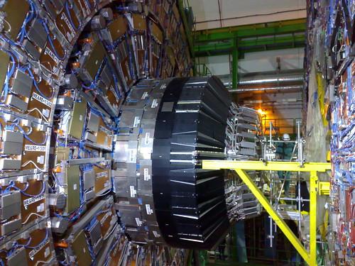 CMS experiment (100 meters underground) @ CERN