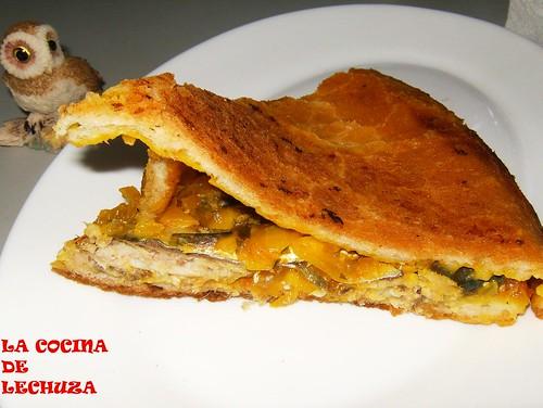 Empanada xoubas porción+