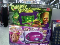 "The ""Queasy-Bake Cookerator,"" spotted in Goodwill Fashions, Phoenixville, PA"