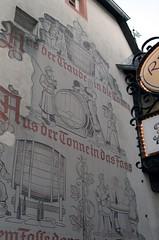 Wall decor (beketchai) Tags: rhineriver drosselgasse rudesheimamrhine