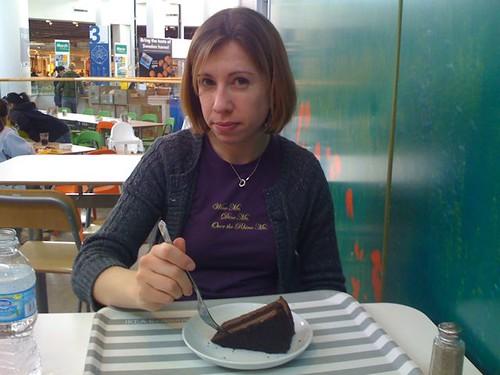i got the cake!