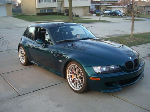 Fs 1999 Bmw Z3 Mcoupe Boston Green Rare