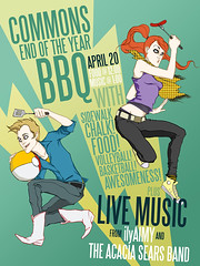 OMGWTFBBQ. (Annie Wu.) Tags: illustration digital photoshop poster bbq promotional mica marylandinstitutecollegeofart digitalillustration digitalcoloring