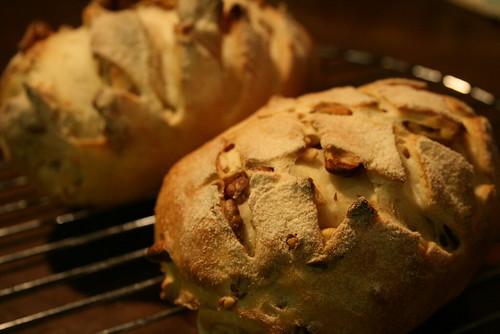 木の実のパン