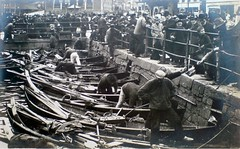"Norway,Bergen ""Fish Market"" 1921 (BSMK1SV) Tags: norway bergenfishmarket1921"