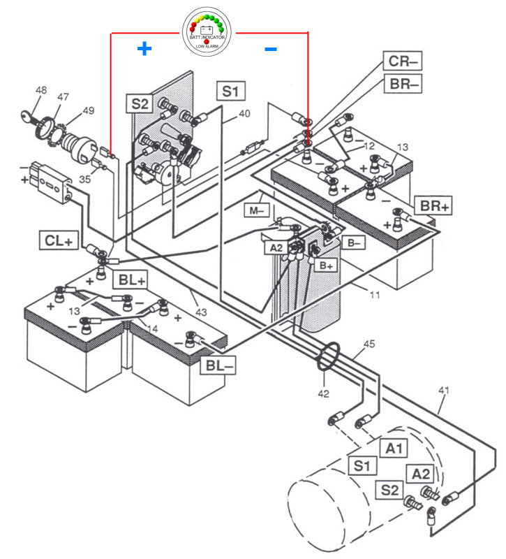 hyundai golf cart wiring diagram the knownledge