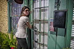 Into the 3rd dimension (dubrillantes) Tags: portrait photoshop 3d christina surreal oldhouse staugustine pp stolenshot mywinners diamondclassphotographer flickrdiamond dennisbrillantes