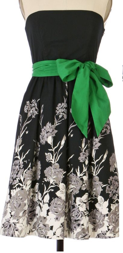 anthro Charcoal Drawing Dress $148