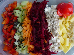 colourful salad bento (Shanti, shanti) Tags: salad bento
