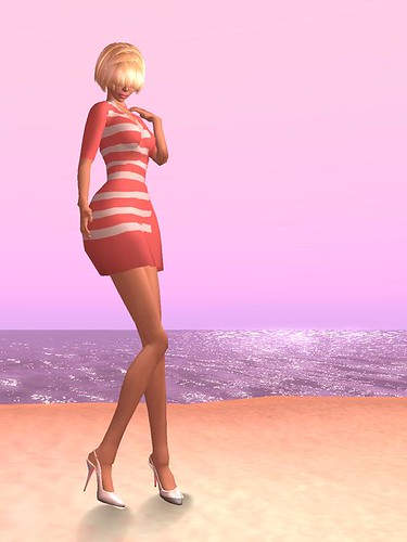 aria dress_fd hair_juicy slingbacks