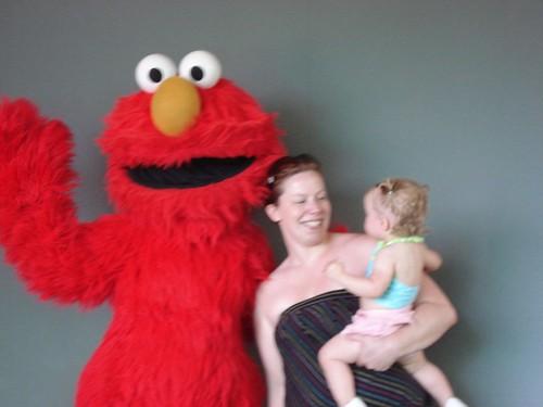 Pictures w/ Elmo