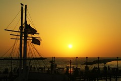Shadow of the Day (forty-onecrush) Tags: ocean ca family friends sunset pier lyrics pacific linkinpark explore tonys birthdaydinner redondopier shadowoftheday