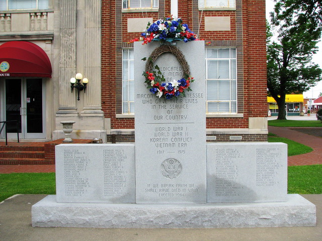 Macon County War Memorial