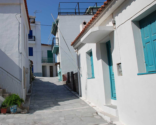 Street in Kokkari