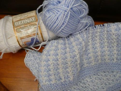 Starting baby blanket