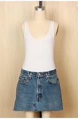 Levi'sCut-off miniskirt
