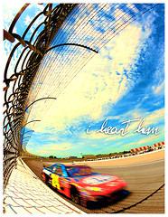 Jeff_061408 (i heart him) Tags: blue sky fence track michigan jeffgordon nascar cluds ihearthim