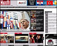 La web de Paris Match