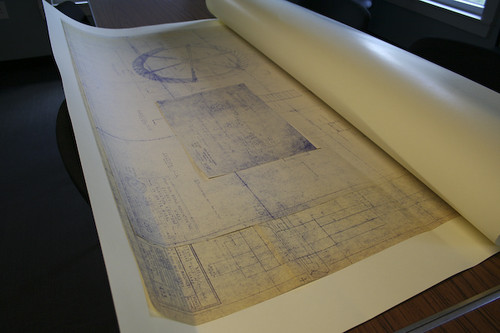 SIW drawings in a protective sleeve.