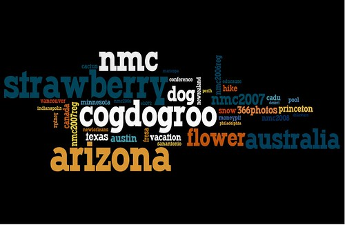 Flickr Wordle