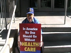 IN: Union Members Protest John McCain in India...