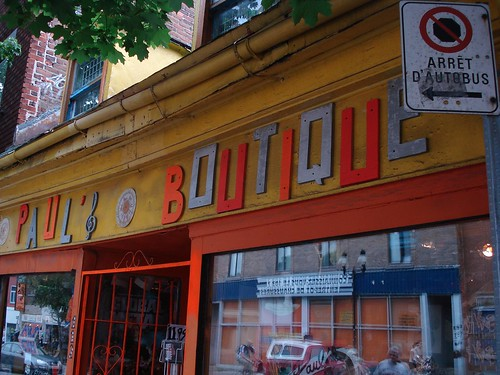 Paul's Boutique in Montreal