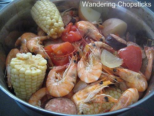 Cajun Vietnamese Shrimp Boil