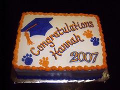 Cougar Graduation Cake 2007