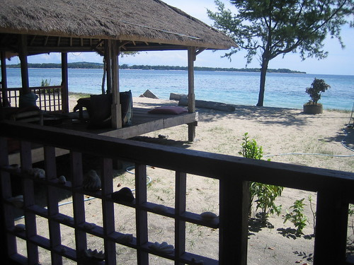 View from hut, Gili Air
