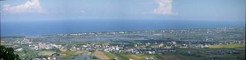 蘭陽平原全景圖