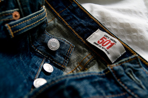new Levi's 501 Jeans