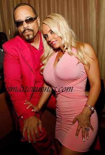 ice t & coco chilling