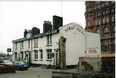 1991...Tommy Ducks, East Street, Manchester (deltrems) Tags: beer bar manchester hotel pub inn knickers ale ducks tommy tavern booze boozer hostelry greenalls tommyducks tommyduckworth deltrems