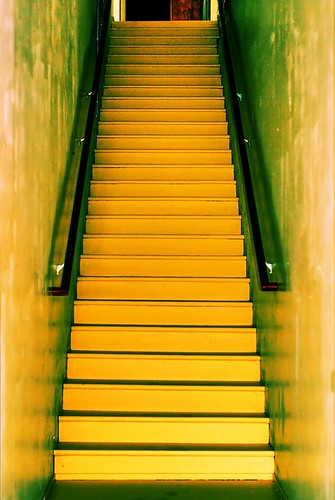 Golden Stairway in Stayton Oregon