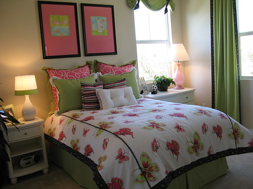 Interior daughters bedroom
