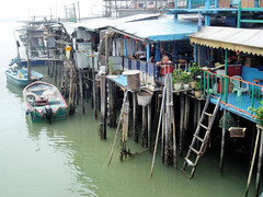 China Travel - Stilt Houses in Tai O, Hong Kong  (Lao Wu Zei) Tags: china travel hongkong fishing cityscape village photos       150views