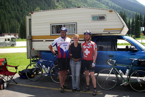 crew at Roger's Pass