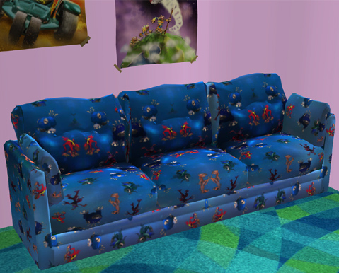 Spore Kid's Room Sofa