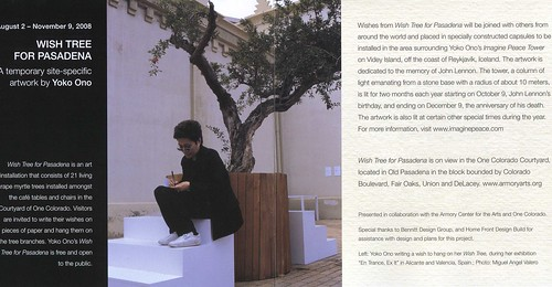 Wish Tree for Pasadena - Flayer - 2 by you.