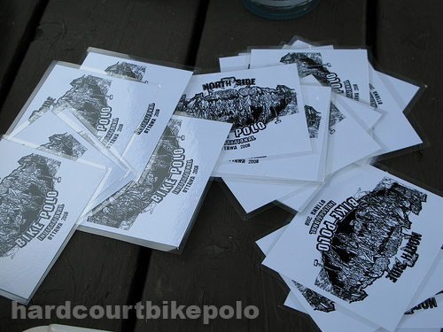 bike polo NSPI 2008 spoke cards