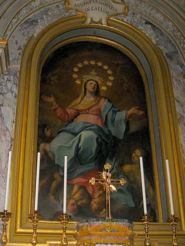 L'Assomption de Marie, photo mienne, Basilique de Jean et Paul au