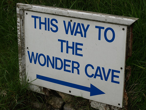 THIS WAY TO THE WONDER CAVE by internets_dairy, on Flickr