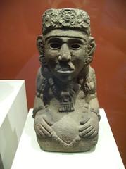 Kneeling Female Deity (peterjr1961) Tags: nyc newyorkcity newyork art museum mexico aztec met themet metropolitanmuseumofart