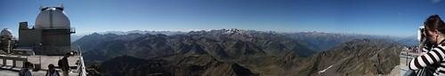 Panorama depuis le Pic du Midi