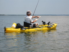 8.28.08 (C.ChrisYak) Tags: redfish kayakfishing 82808
