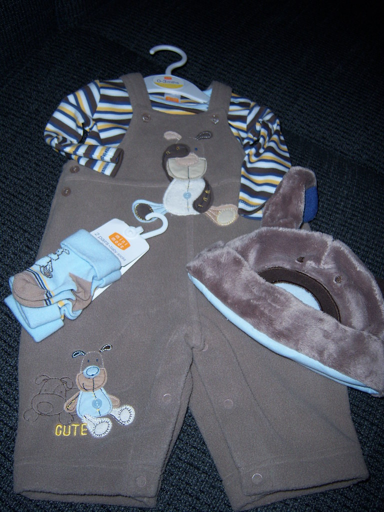 Baby Boy Spencer 1st Outfit